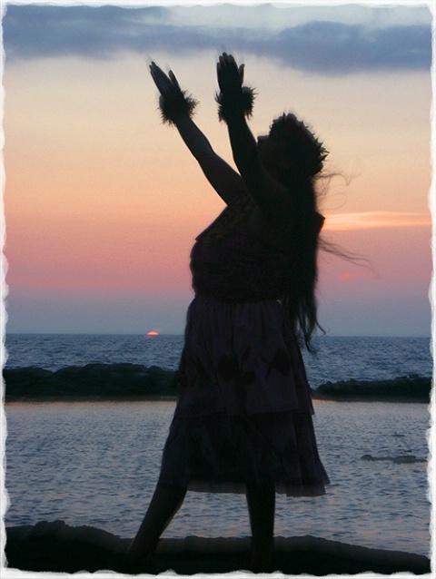 Sunset Hula
