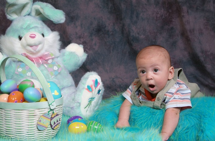 """""""I saw the Easter Bunny"""""""