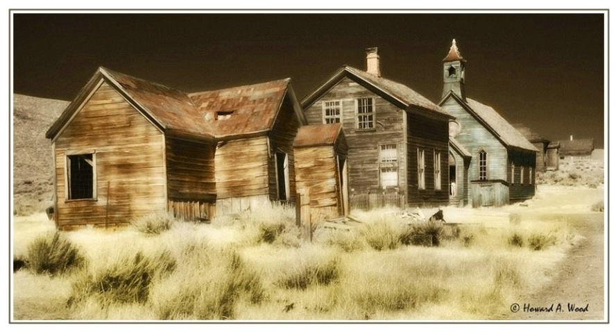 Bodie California-IR Image