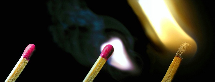 """Match Burning"""
