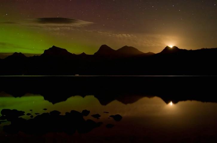 Lake McDonald Moonrise2