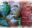 Pottery on Displa...