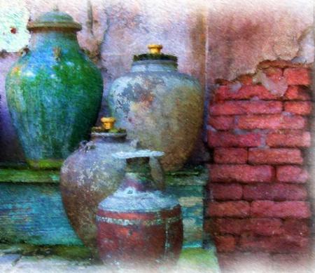 Pottery on Display