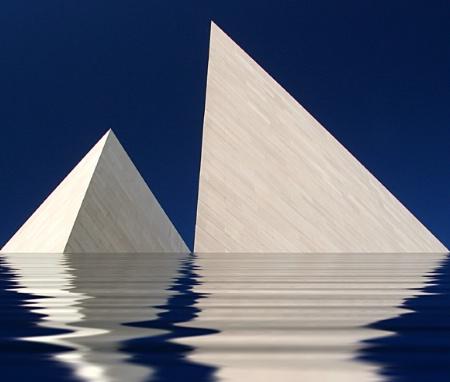 Lake of Pyramids