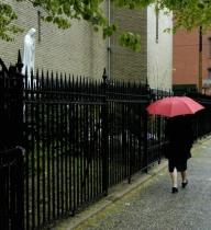 umbrella, Erie Street