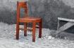 one single chair ...