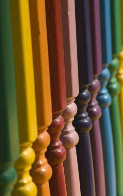 Colorful Pegs - Cropped