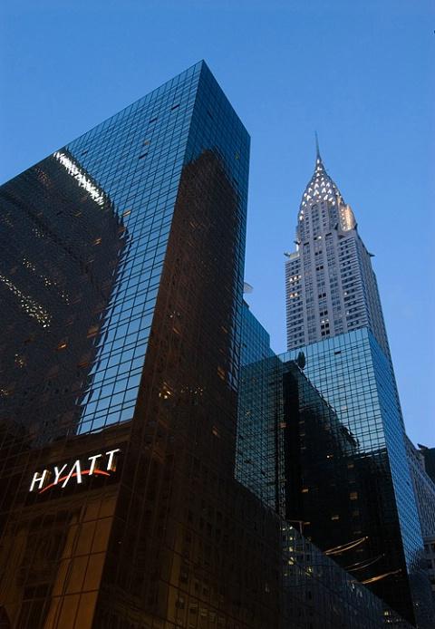 Chrysler Building - 8:13PM