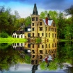 A Flooded Castle ...