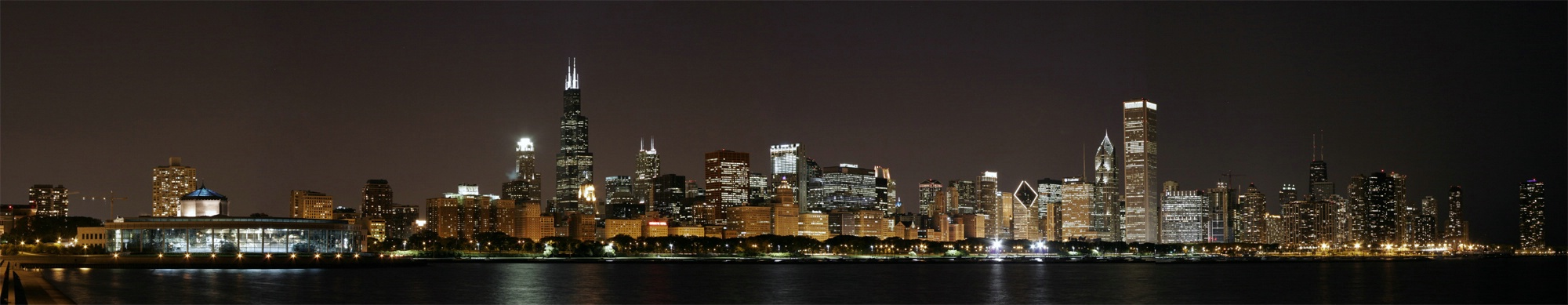 Evening Chicago Cityscape