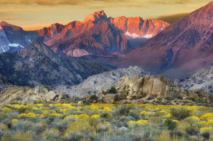EASTERN SIERRA SUNRISE-CALFORNIA