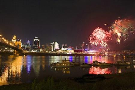 Great American Ballpark Fireworks