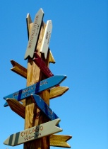 Which Way To...........