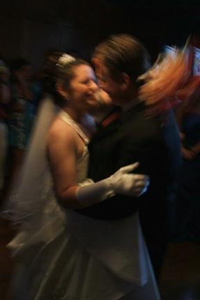 joe and kims wedding day