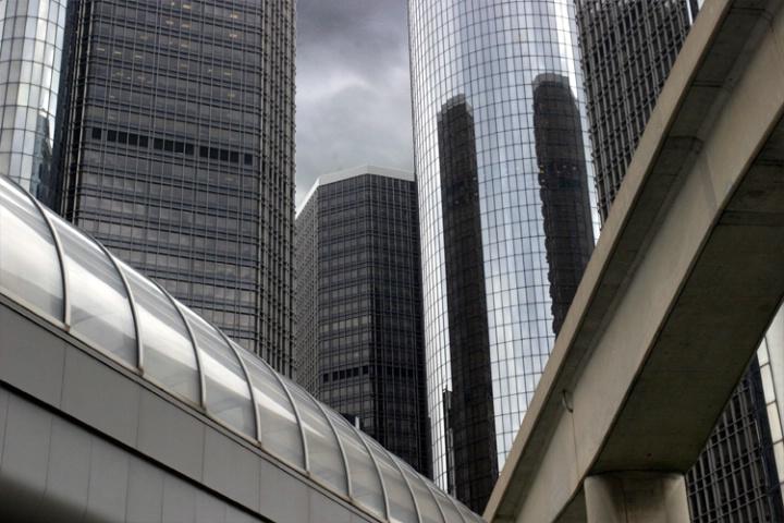 Detroit Renaissance Center Aerial