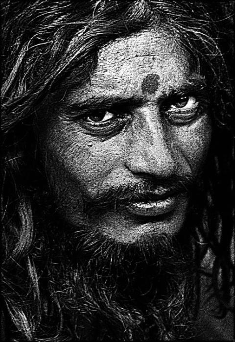portrait of a naga sadhu