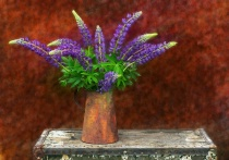 Still Life With Lupine