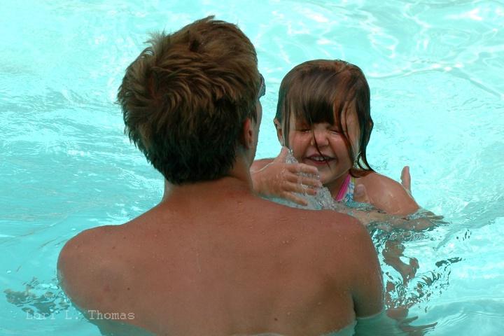 Swimming Lesson Joy