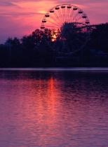 Geauga Lake Sunset