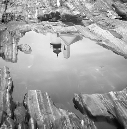 Pemaquid In Infrared
