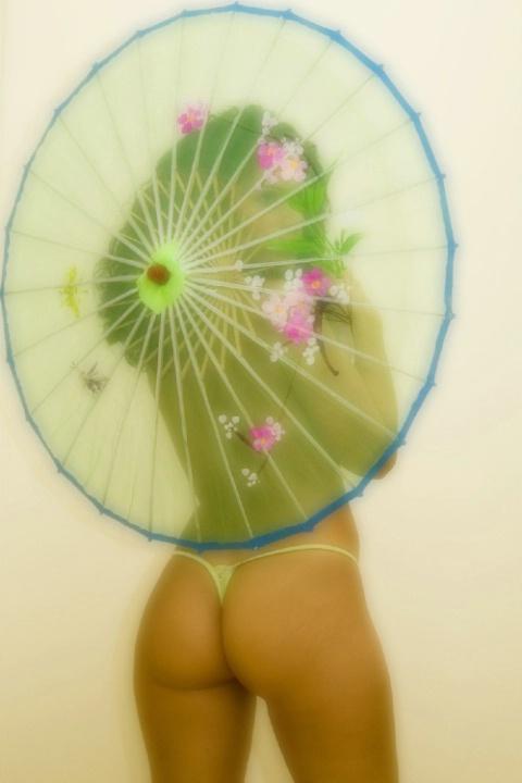 umbrella lady