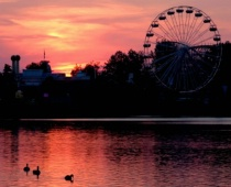 Another Geauga Lake Sunset
