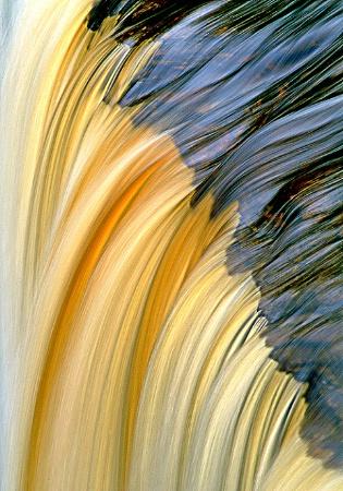 A Section of Upper Tehquamenon Falls