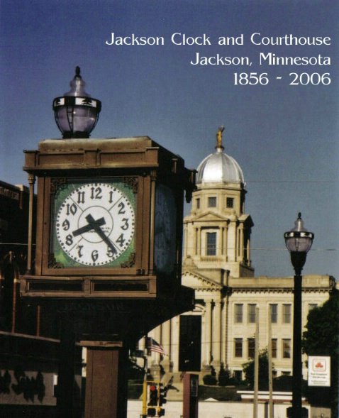 Jackson Clock Courthouse Note Card - ID: 2304575 © Eric B. Miller