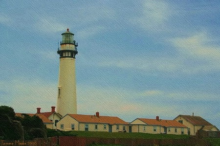 Painted Lighthouse