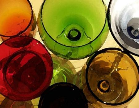 Coktail glass