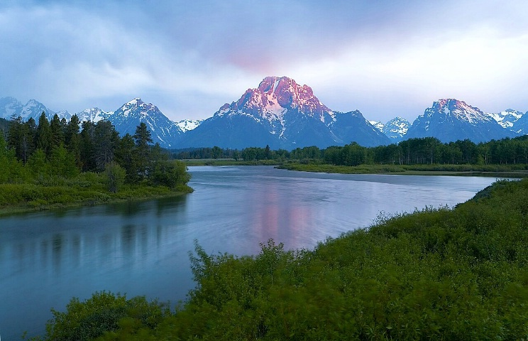 Stormy Sunrise at Oxbow Bend