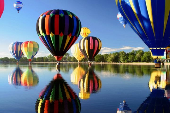 Ballooning Reflections