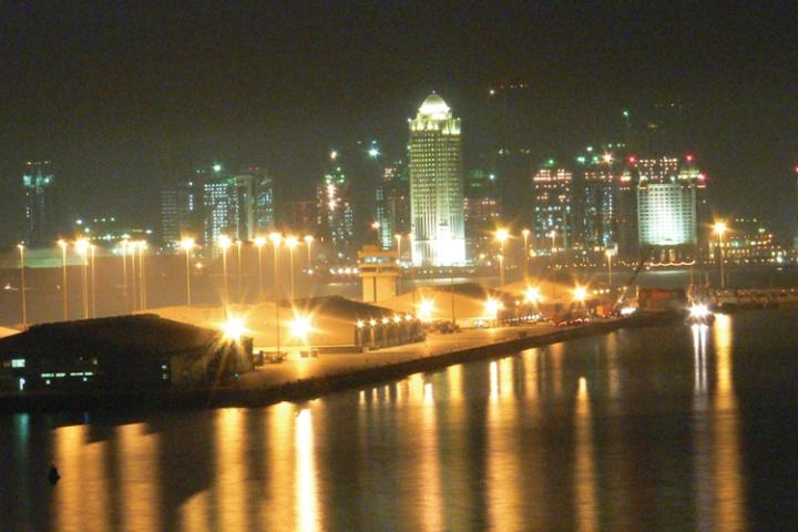 Doha, Qatar at Night