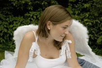 Angel Girl Resting