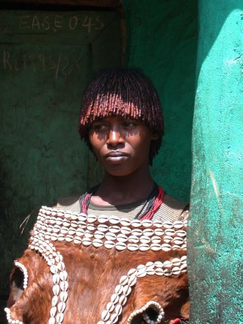 Hamer Woman Ethiopia