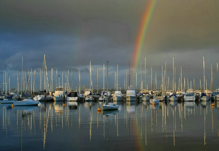 Winter At The Yacht Club