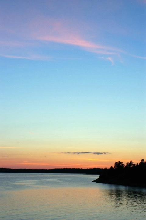 Midsummer Midnight in Sweden