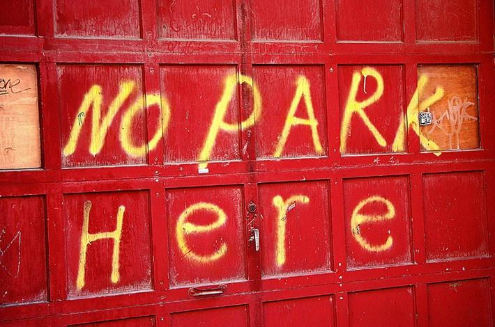 No Park Here