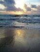Sunrise on the be...