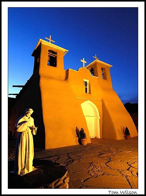 St Francis Church, Rancho De Taos