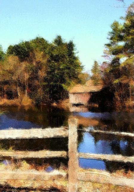 Calm New England Morning