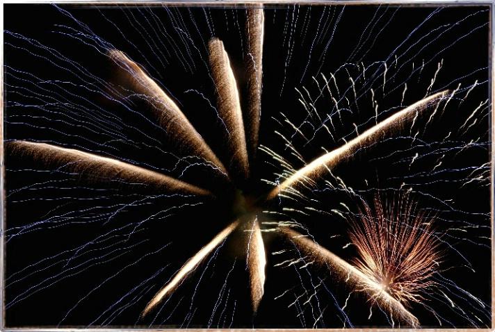 Fireworks - ID: 2452694 © DEBORAH thompson