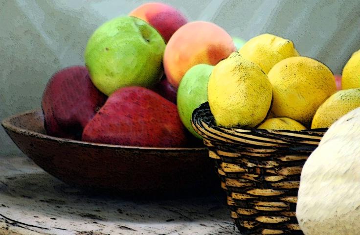 Fruit full of colors