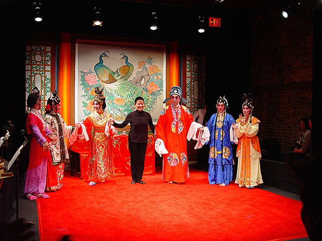 Chinese Opera Stage - ID: 2467865 © Virginia Ross