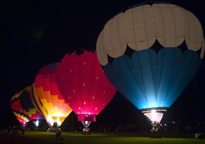 Prosser Balloon Rally Night Glow