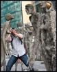 Street sculpture ...