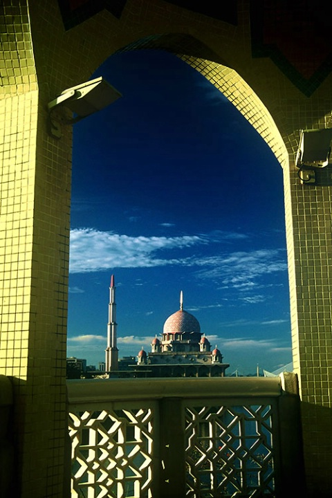 The Putra Mosque in Frame