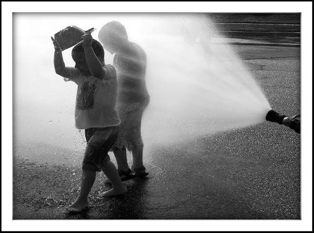 Kids Cooling Off