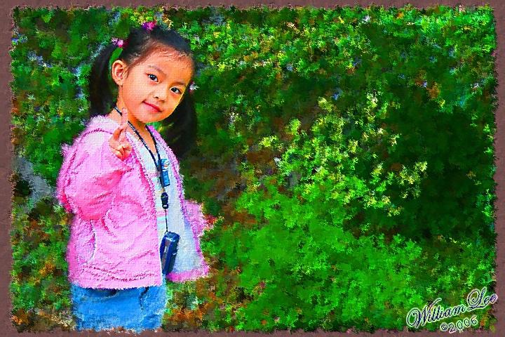 Aurora - a future photographer.