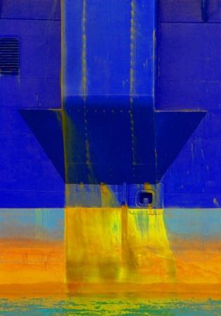 boat siding, abstract